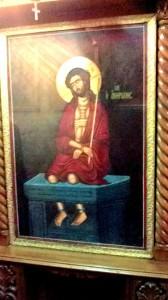O icoană reamintește momentul întemnițării lui Iisus