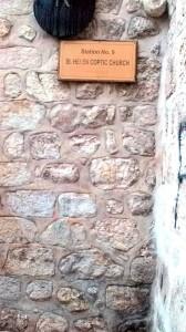 Al 9-lea popas-locul celei de-a treia căderi a Mântuitorului