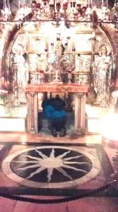 Aici lemnul Sfintei Cruci a dat peste craniul lui Adam