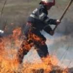 Incendiu într-un bloc de pe strada Pacea din municipiul Botoşani