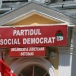 PSD Botoșani își exprimă susținerea pentru președintele PSD și pentru Guvernul Grindeanu