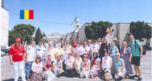 Pelerini botoșăneni la Betleem- în oraşul naşterii lui Iisus Hristos