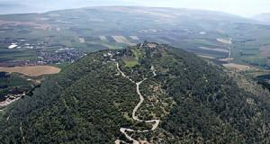 Pelerini botoșăneni, la locul Schimbării la Față a Mântuitorului, pe muntele Tabor din Israel