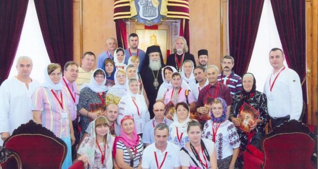 Surpriză de proporții pentru pelerinii botoșăneni care sunt acum în Țara Sfântă! Intâlnire cu Patriarhul Ierusalimului, Preafericitul TEOFIL al III-lea