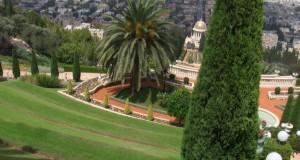 Grădinile etajate Bahai din Haifa