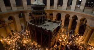 Sfânta Lumină de la Ierusalim- o minune la care a fost martor și Arhimandritul Ioanichie Balan