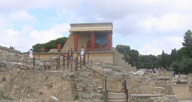 Palatul Knossos din Heraklion şi civilizaţia minoică (II)