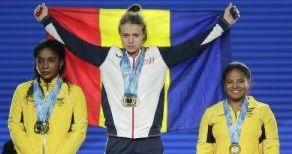 Botoşăneanca Loredana Toma – triplă medaliată cu aur la Mondialele de Haltere