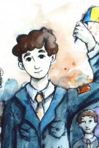 Cazul Mugur Călinescu, ilustrat pe bandă desenată