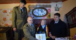 105 ani de viaţă, sărbătoriţi în mijlocul familiei de Vasile Chipoancă, veteran de război