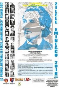 """ZILELE """"MIHAI EMINESCU"""" – PREMIUL NAŢIONAL DE POEZIE """"MIHAI EMINESCU"""", ediţia XLIX"""