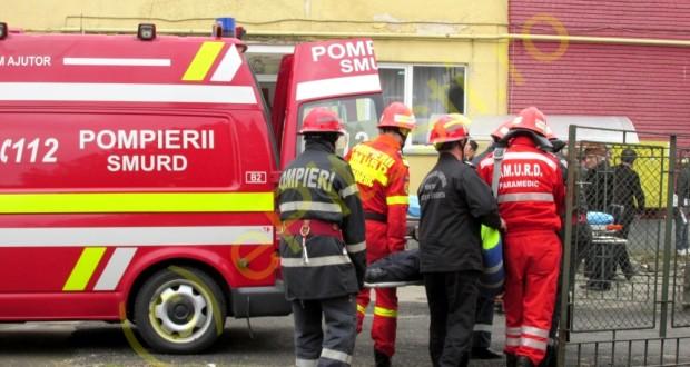 Exercițiu în caz de urgenţă la Casa de Cultură a Sindicatelor Botoșani