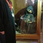 La Mănăstirea Sf. Ecaterina, alături de moaștele sf. Stefan Sinaitul