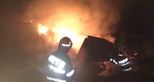 66 de incendii în ultima săptămână