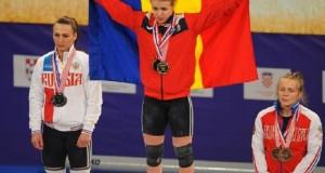 Loredana Toma a câștigat 3 medalii de aur, la Campionatele Europene de haltere