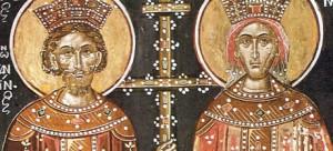Sfinții Impărați Constantin și Elena