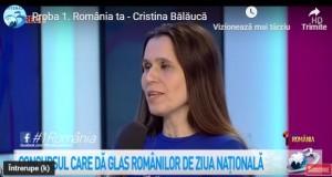"""Profesoara Cristina Bălăucă, de la Colegiul Național """"Mihai Eminescu"""" din Botoșani, a câștigat concursul """"1România"""", organizat de Antena 3"""