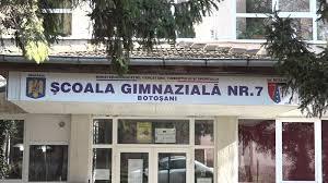 Scena din online a Școlii Gimnaziale Nr. 7 Botoșani