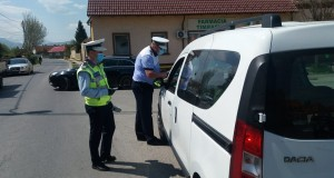 Femeie reținută pentru trei infracțiuni la regimul rutier