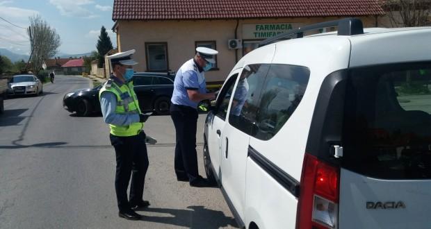 Acțiune a polițiștilor rutieri pe raza municipiilor Botoșani și Dorohoi