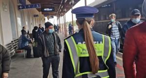 ACȚIUNE COMUNĂ A POLIȚIEI ROMÂNE ȘI CFR CĂLĂTORI, PENTRU SIGURANȚA TRANSPORTURILOR