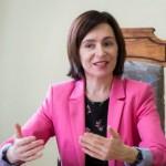 GDS acordă premiul pe anul 2020 președintei Republicii Moldova, Maia Sandu