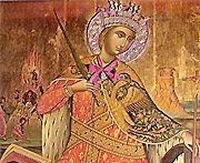 Azi creștinii o prăznuiesc pe Sf. Mare Muceniță Ecaterina care este considerată a fi protectoarea intelectualilor