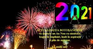 La mulţi ani 2021!