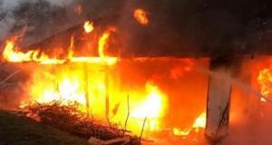 Incendiu la Dorohoi