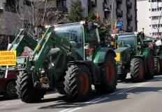 Fermierii botoşăneni au protestat împotriva guvernanţilor, acuzaţi că vor să omoare agricultura românească