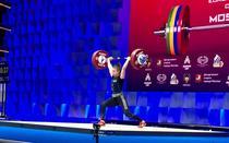 Botoşăneanca Loredana Toma a cucerit trei medalii de aur la cat. 64 kg, la Campionatele Europene de haltere de la Moscova