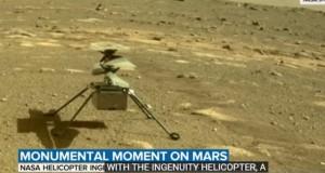 Elicopterul Ingenuity al NASA a supraviețuit primei nopți pe Marte, la temperaturi de -90 de grade