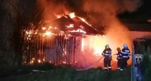 Incendiu la Dorohoi din pricina unei ţigări