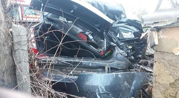 Un grav accident rutier s-a produs pe raza comunei Santa Mare