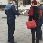 Poliţiştii botoşăneni au continuat activităţile de informare a populaţiei, prin derularea de acţiuni în mediul urban