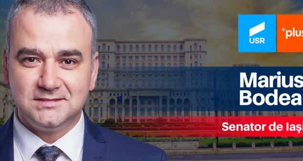 """Marius Bodea (Senator USR PLUS): Dispreț față de opinia publică în cazul """"Apele Române""""!"""