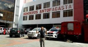 Maratonistul Iulian Rotariu- un gând bun pentru pompierii români trimis din La Paz