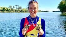 Canotoarea Simona Radiș, aur și record mondial la Campionatele Europene U23