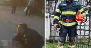 Pompier dorohoian- salvator!