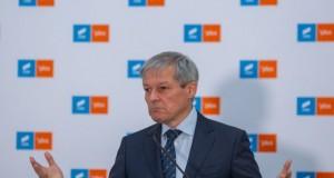 Dacian Cioloș: USR nu susține un guvern minoritar